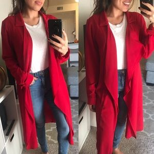 Jackets & Coats - Red duster cardi